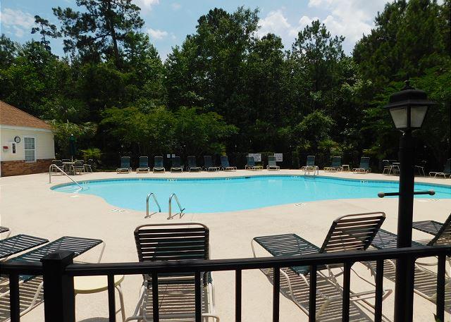 Pool Area in Arbor Trace