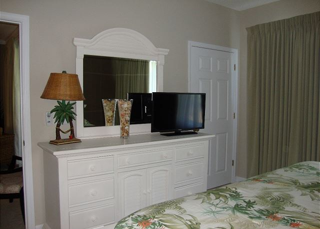 View of TV in Master BR