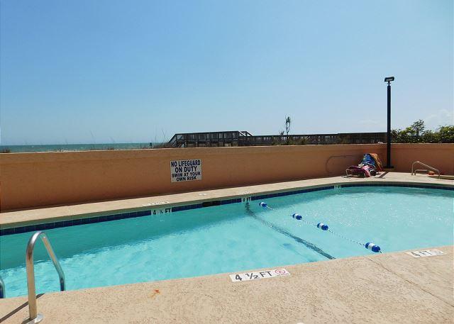 Pool Area with Walkway
