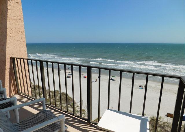 Carolina Reef #606 View from Balcony