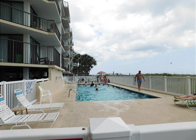 Oceanfront Pool Area