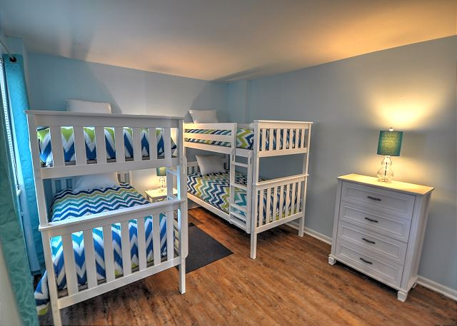 3rd Bedroom with 2 Bunk Beds