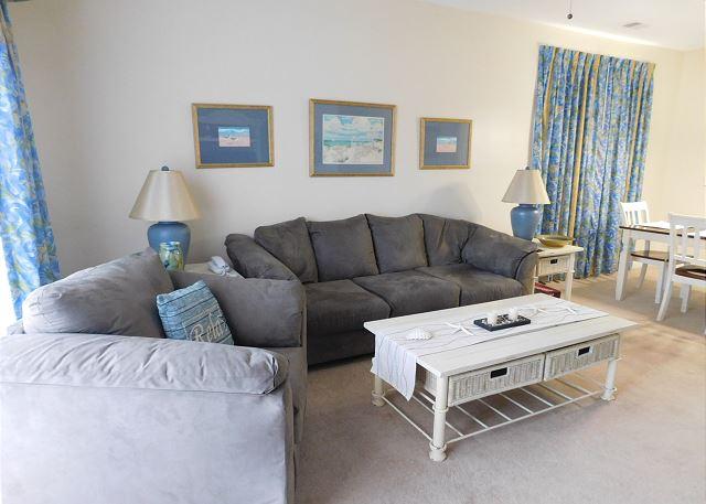 Cypress Bend #124 Living Room Area