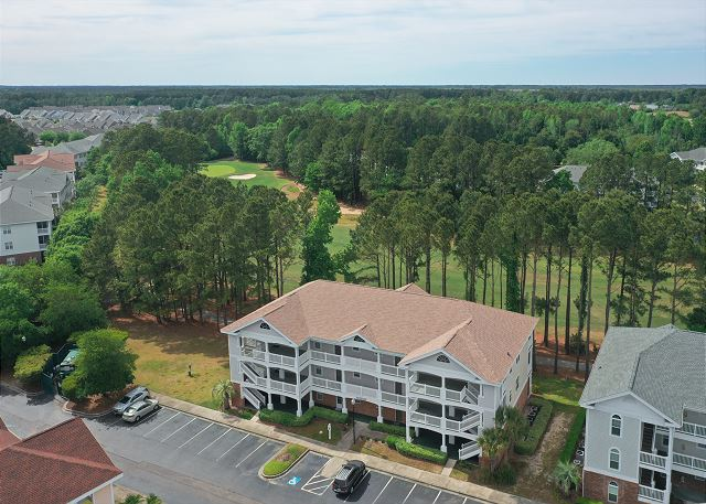 Drone View of Cypress Bend & Golf Course