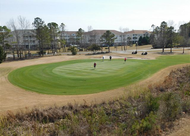 Golf Course in Back of Unit
