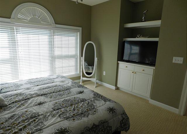 Master Bedroom with Smart TV