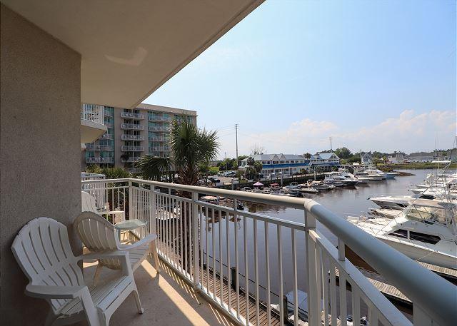 Balcony View of Marina