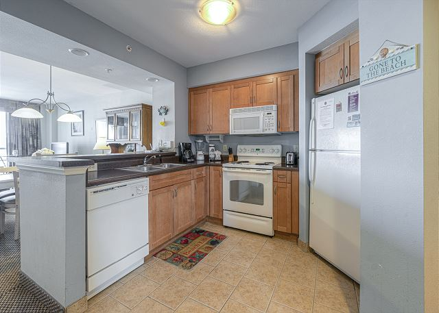 Kitchen in Harbourgate 312
