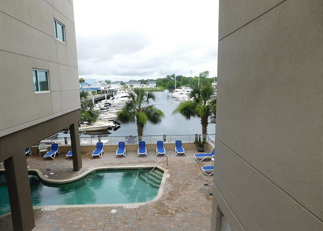 Pool Area at Harbourgate