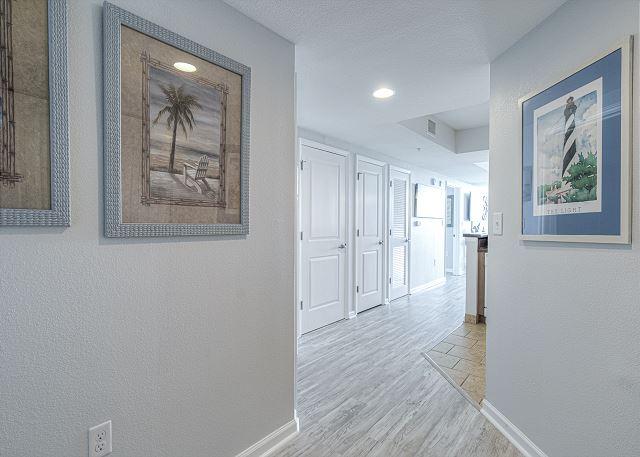 Hallway to 624