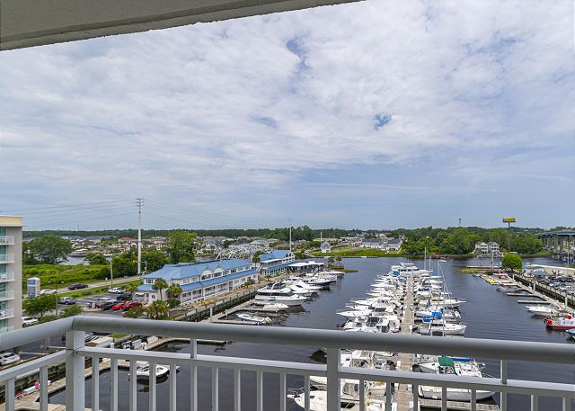 View of Marina from Harbourgate 624