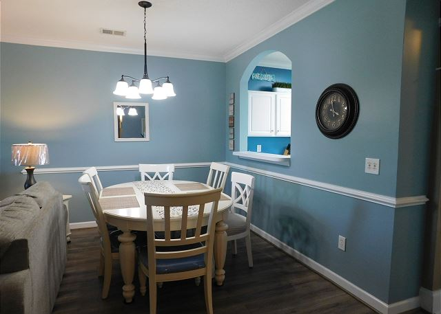 Dining Area in Havens 423