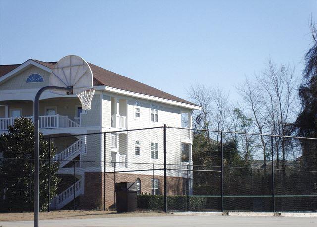 Tennis & Basketball Court in Ironwood