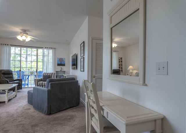 Writing desk in Living Room and Dining room