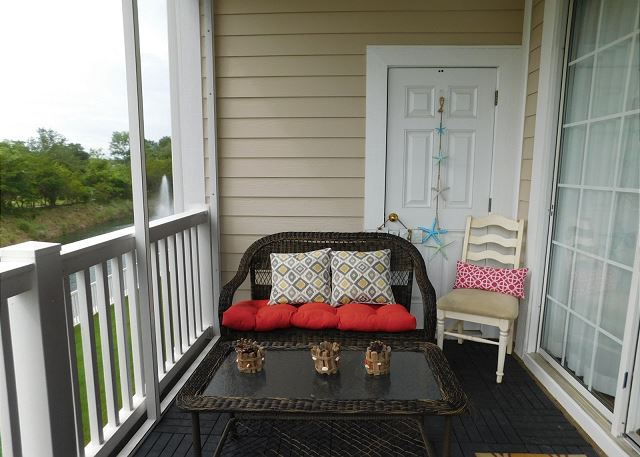 Seating on Porch