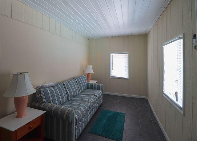 Backroom with Sleeper Sofa