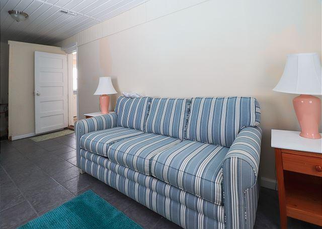 Sleeper Sofa in Back Room