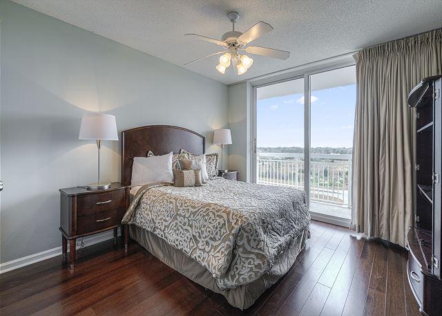 Bedroom #3 Queen Bed with balcony
