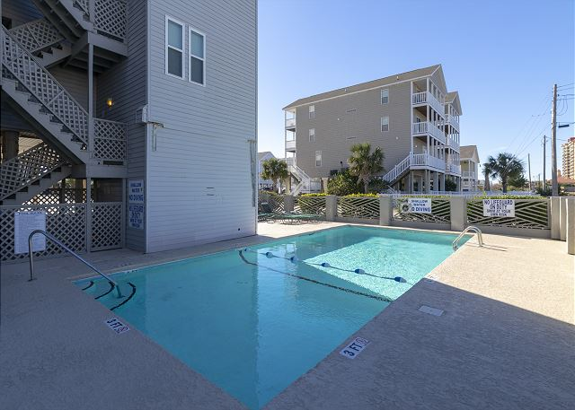 Pool Area at Ocean Terrace