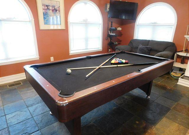 Pool Table in LR