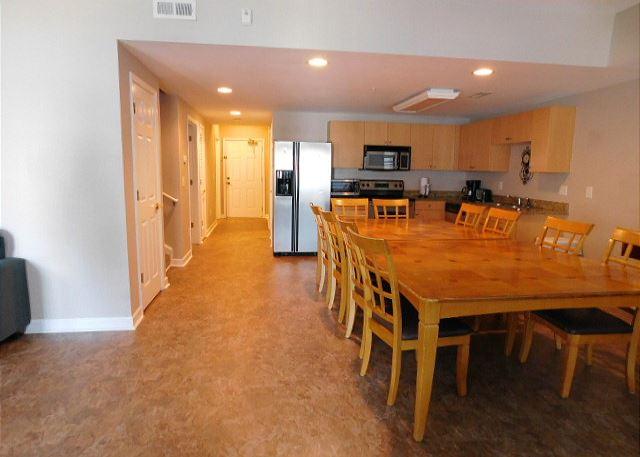 New floor in Living Area