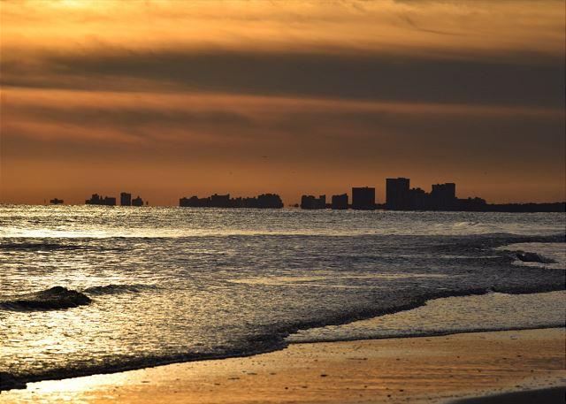 Sunset at the Beach!