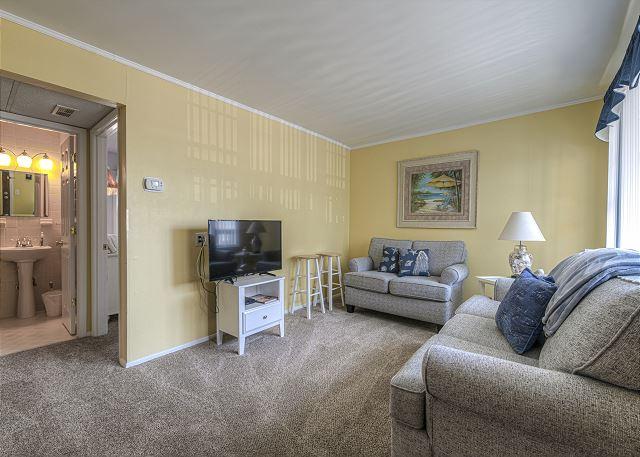Living Room at Sea Villas