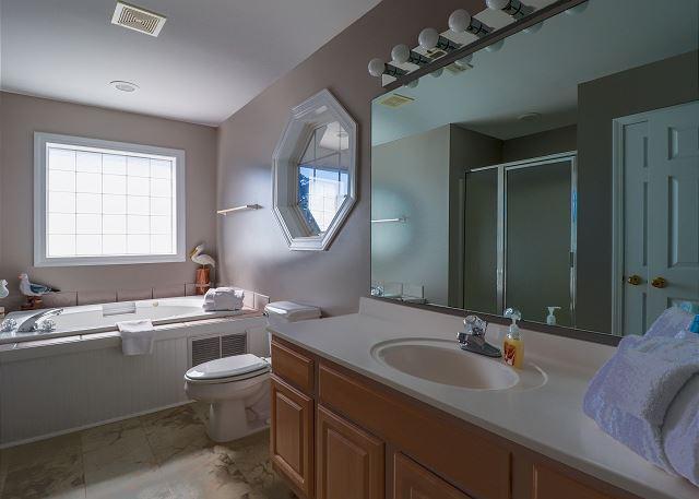 Primary Bathroom with Soaking Tub