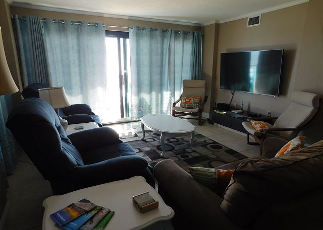 Living Room in Springs Towers