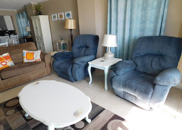 Seating in Living Room