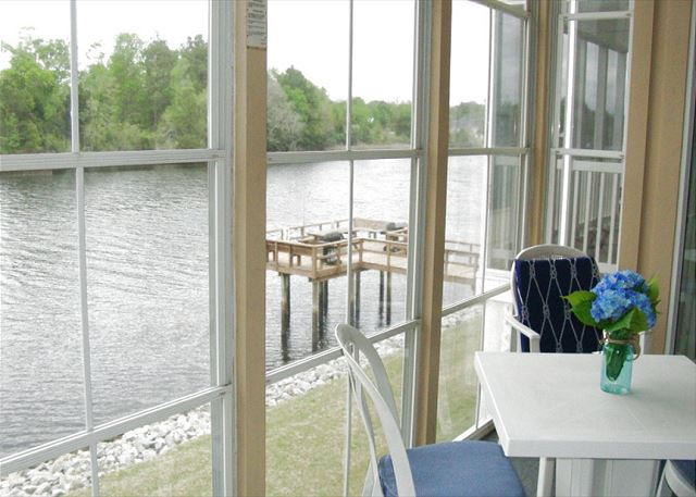 Porch View of Waterway