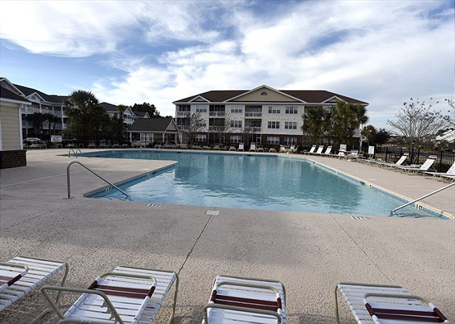 Pool Area in Willow Bend