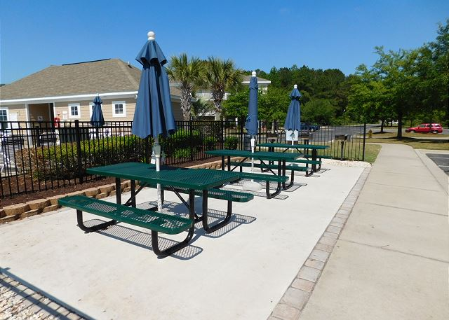 Picnic Area in Willow Bend