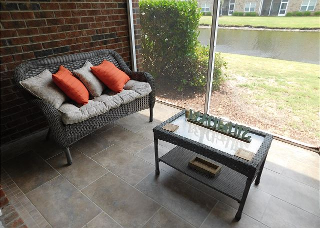 Patio at Willow Bend 213