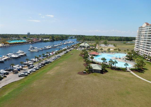 Pool & Waterway View