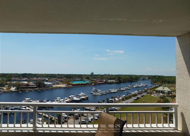 Balcony View of Waterway