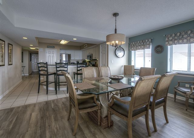 Dining Room & Kitchen View
