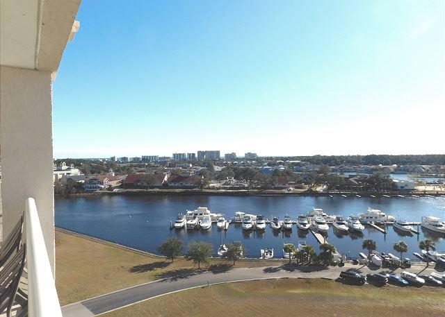 Balcony Views of the Marina