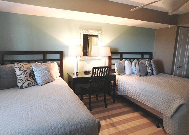 Bedroom #4 with 2 Queen Beds