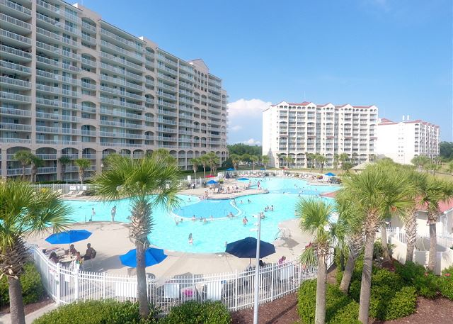 North Tower Pool