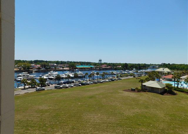 View of Waterway & Marina