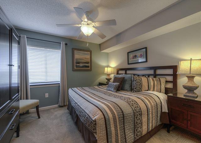 Bedroom #1 King bed