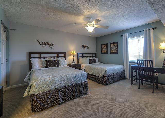 Bedroom #2 2-Queen beds