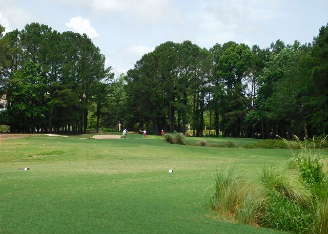 Barefoot Golf Course View