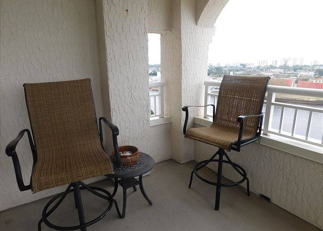 Patio Seating on Porch