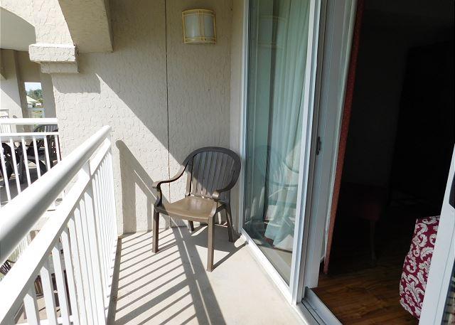 Balcony off Bedroom 1