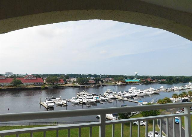View of Marina from Balcony