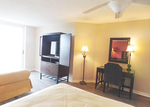 Waterside Bedroom Flat Screen TV