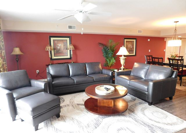Couch, Love Seat, Recliner