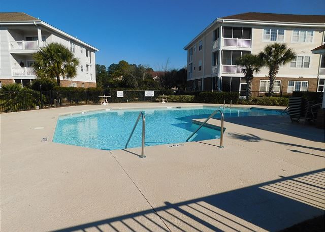 Pool Area at Wedgewood